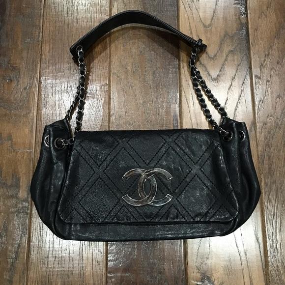 0523fd3dbe04 CHANEL Bags | Diamond Stitch Accordion Classic Flap Bag | Poshmark
